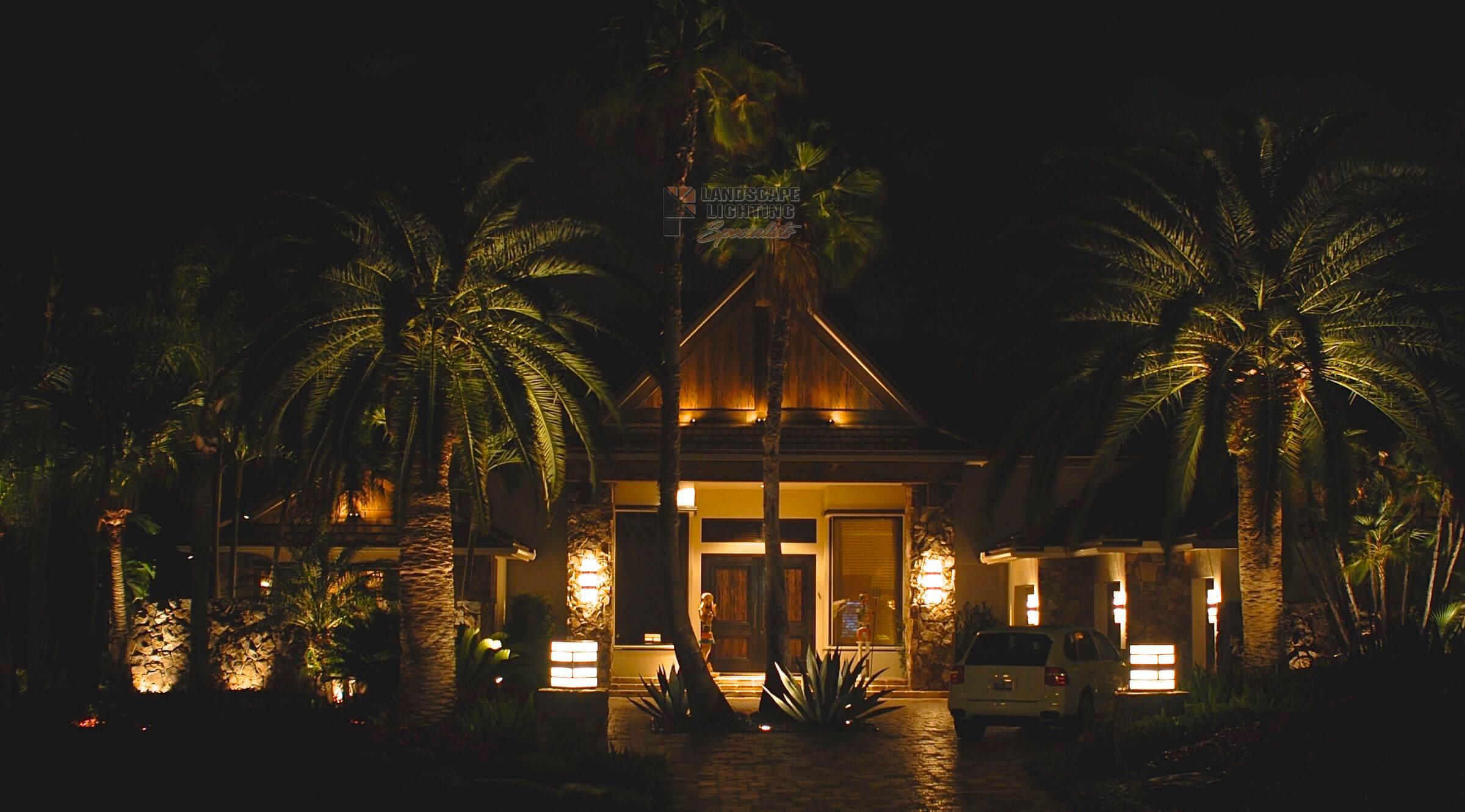 Palm Beach Landscape Lighting Installation Low Voltage Lights